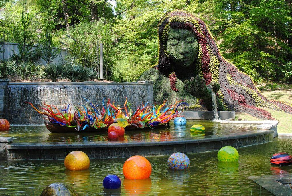 Annual leadership conference for Chihuly atlanta botanical gardens